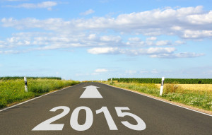 cpc qualification can lead to a new career in 2015 - road with arrow