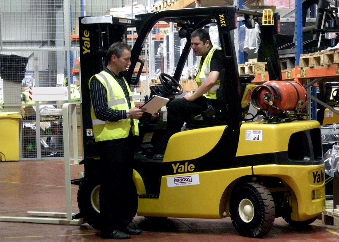 Rtitb Approved Forklift Training Courses Uk Industries